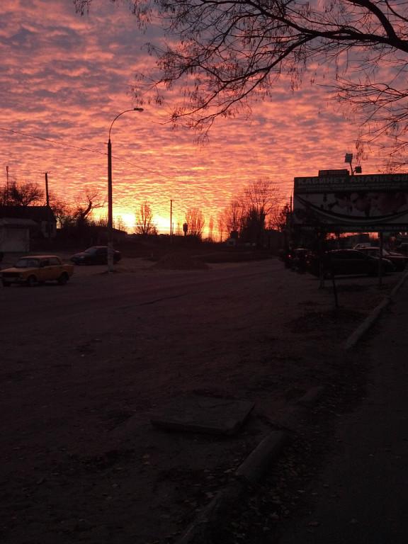 закат+в+Цюрупинске