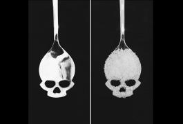 ложка в форме черепа