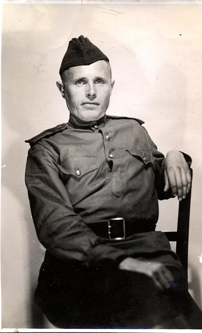 Иванов Виктор Ильич, 1945 год