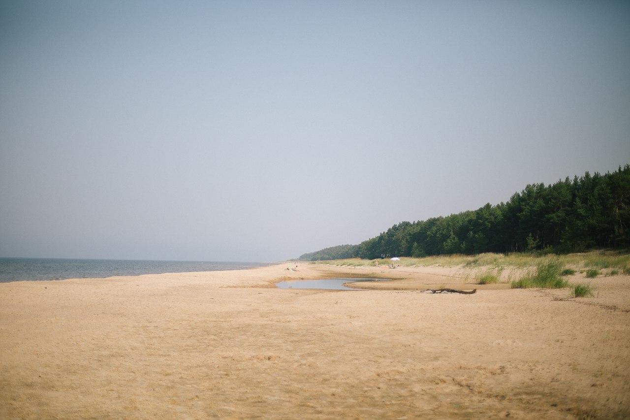 Конец лета пляж море