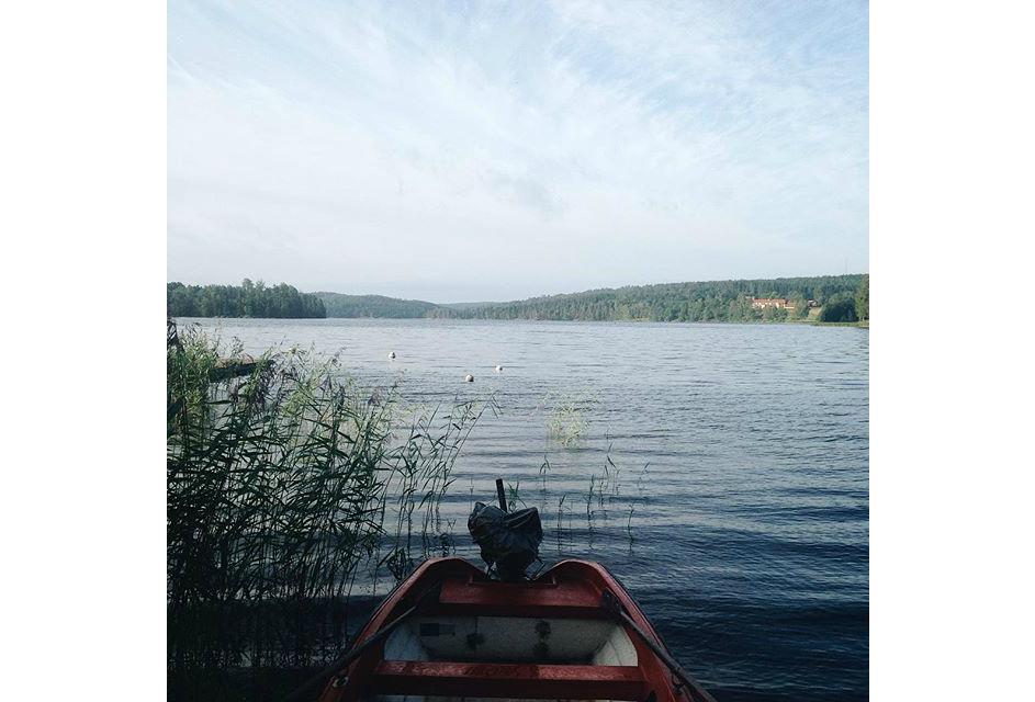 фото Екатерины Мордачёвой, лодка