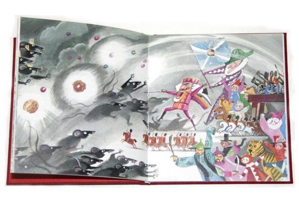 Щелкунчик и Мышиный король, рисунок Нины Гольц