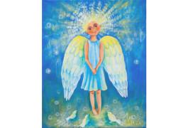 картина Эльги Поповой Ангел