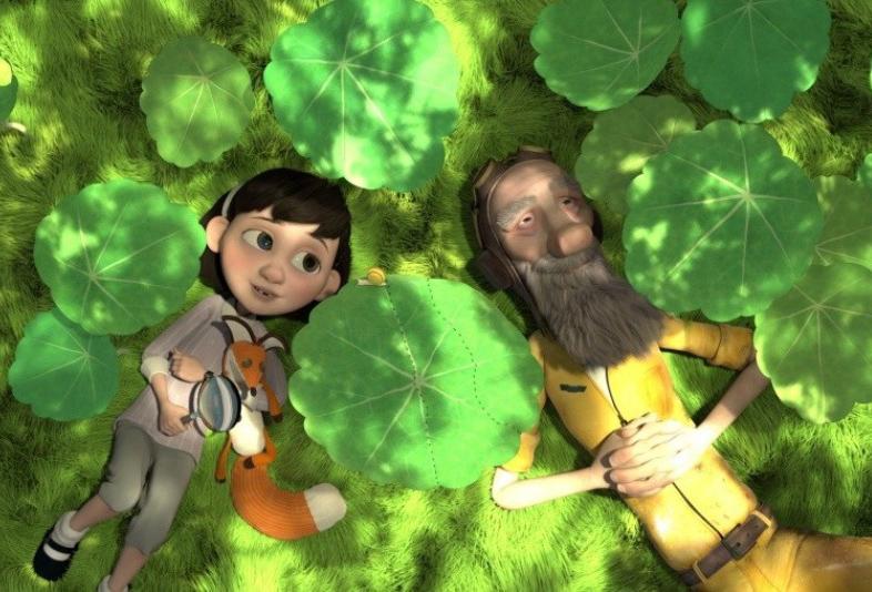 кадр из мультфильма Маленький принц