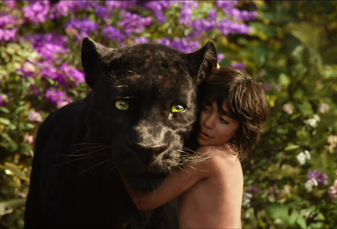 кадр из фильма Книга джунглей 2016