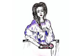 рисунок Елизаветы Солодкой