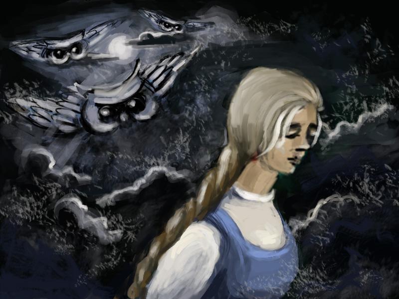 Малуша рисунок