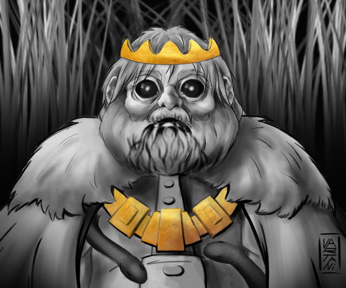 creepy king