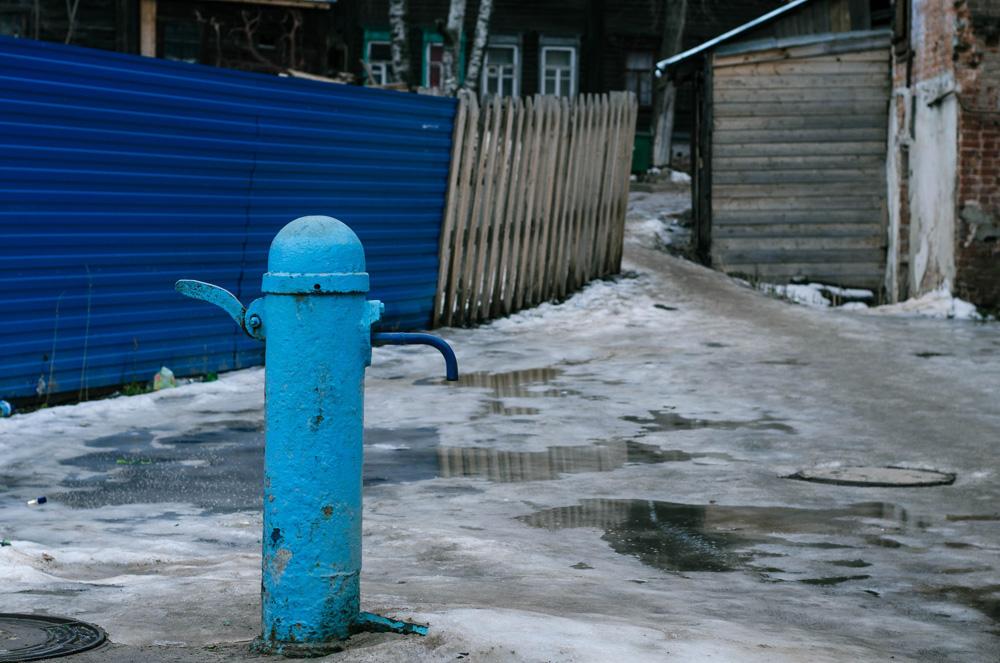 колонка водопроводная