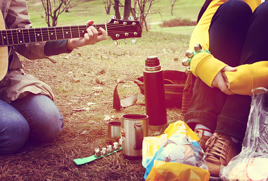 прогулка с гитарой