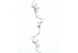 лица рисунок